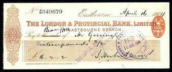 Picture of London & Provincial Bank, Ltd., Eastbourne, 190(4)