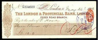 Picture of London & Provincial Bank, Ltd., Essex Road, 190(2)