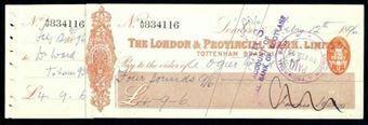 Picture of London & Provincial Bank, Ltd., Tottenham, 18(95)