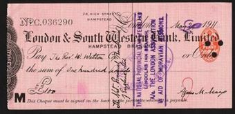 Picture of London & South Western Bank Ltd., Hampstead, 19(11)