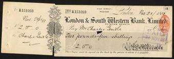 Picture of London & South Western Bank Ltd., Peckham, 18(83)