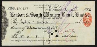Picture of London & South Western Bank Ltd., Sydenham, 190(4)