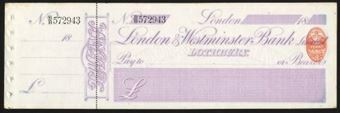Picture of London & Westminster Bank Ltd, Lothbury, 18(91)