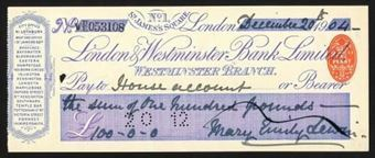 Picture of London & Westminster Bank Ltd., No. 1 St. James's Square, Westminster Branch, 19(05)