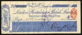 Picture of London & Westminster Bank Ltd., No. 1 St. James's Square, Westminster Branch, 19(09)
