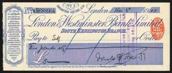 Picture of London & Westminster Bank Ltd., South Kensington Branch, 19(05)