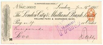 Picture of London City & Midland Bank Ltd., Holland Park & Shepherd's Bush, 191(1)