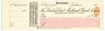 Picture of London City & Midland Bank Ltd., Lytham, Preston, 19(08)