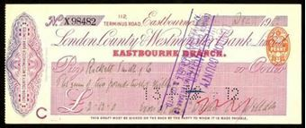 Picture of London County & Westminster Bank Ltd., Eastbourne, 19(12)