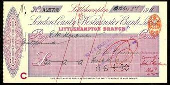 Picture of London County & Westminster Bank Ltd., Littlehampton, 19(11)