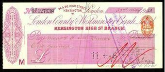 Picture of London County & Westminster Bank Ltd., London, Kensington High Street, 19(13)