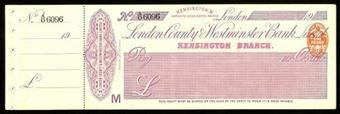 Picture of London County & Westminster Bank Ltd., London, Kensington, 19(11)