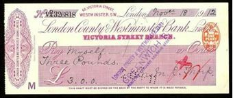 Picture of London County & Westminster Bank Ltd., London, Victoria Street, 19(12)
