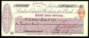 Picture of London County & Westminster Bank Ltd., London, West End Office, 19(12)
