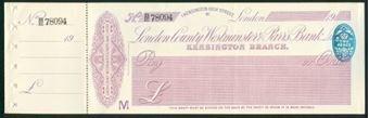 Picture of London County Westminster & Parr's Bank Ltd., Kensington Branch, London, 19(21)