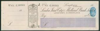 Picture of London Joint City & Midland Bank Ltd., Longtown, Cumberland, 19(20)