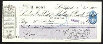 Picture of London Joint City & Midland Bank Ltd., Southport, 192(1)