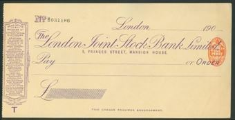 Picture of London Joint Stock Bank Ltd., 5 Princes Street, Mansion House, 190(8)