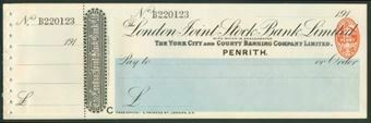 Picture of London Joint Stock Bank Ltd., Penrith, 191(3), York City & County Banking Co. Ltd.,