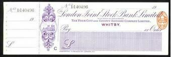 Picture of London Joint Stock Bank Ltd., Whitby, 19(10), The York City and County Banking Co. Ltd.