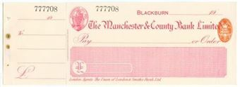 Picture of Manchester & County Bank  Ltd., Blackburn, 19(05)