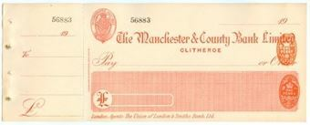 Picture of Manchester & County Bank  Ltd., Clitheroe, 19(18)