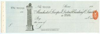Picture of Manchester & Liverpool District Banking Co Ltd., Stone, 189(8)