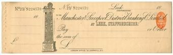 Picture of Manchester & Liverpool District Banking Co. Ltd., Leek, Staffs., 18(94)