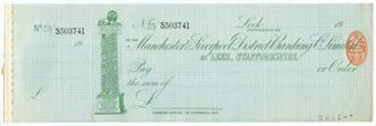 Picture of Manchester & Liverpool District Banking Co. Ltd., Leek, Staffs., 19(02)