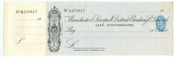 Picture of Manchester & Liverpool District Banking Co. Ltd., Leek, Staffs., 19(19)