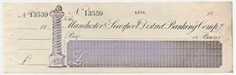 Picture of Manchester & Liverpool District Banking Co., Leek, 18(58)