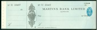 Picture of Martins Bank Ltd., Alnwick, 19(35)