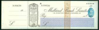 Picture of Midland Bank Ltd., 1/3, Everton Road, Liverpool, 19(40), type 3b
