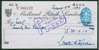 Picture of Midland Bank Ltd., 106, Bermondsey Street, S.E 1, 19(55), type 9