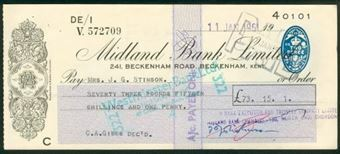Picture of Midland Bank Ltd., 241, Beckenham Road, Beckenham, Kent, 19(62), type 4