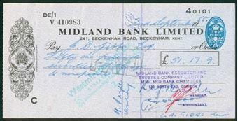Picture of Midland Bank Ltd., 241, Beckenham Road, Kent, 19(55), type 13