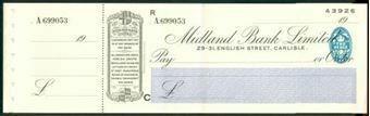 Picture of Midland Bank Ltd., 29-31, English Street, Carlisle, 19(36), type 3b