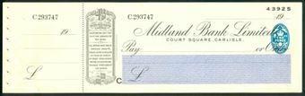 Picture of Midland Bank Ltd., Court Square, Carlisle, 19(33), type 3b