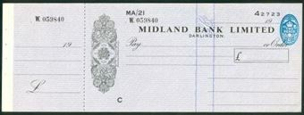 Picture of Midland Bank Ltd., Darlington, 19(52), type 13