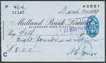 Picture of Midland Bank Ltd., Ellesmere Port, Cheshire, 19(39), type 6