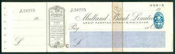 Picture of Midland Bank Ltd., Great Hampton Street, Birmingham, 19(32), type 3b