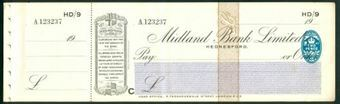 Picture of Midland Bank Ltd., Hednesford, 19(30), type 3a