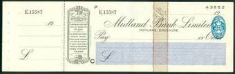 Picture of Midland Bank Ltd., Hoylake, Cheshire, 19(37), type 3b