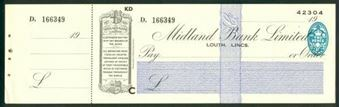 Picture of Midland Bank Ltd., Louth, Lincs, 19(42), type 3b