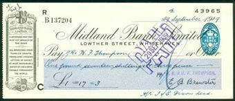 Picture of Midland Bank Ltd., Lowther Street, Whitehaven, 19(39), type 3b