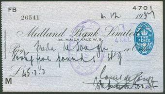Picture of Midland Bank Ltd., Maida Vale, W.9, 19(37), type 6