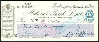 Picture of Midland Bank Ltd., Market Place, Workington, 192(6), type 2a
