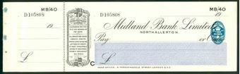 Picture of Midland Bank Ltd., Northallerton, 19(30), type 3a