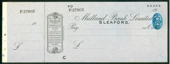 Picture of Midland Bank Ltd., Sleaford, 19(41), type 12