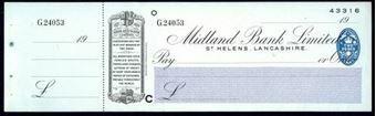 Picture of Midland Bank Ltd., St. Helens, Lancashire, 19(39), type 3b
